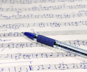 Musical Pens blog - writing to music