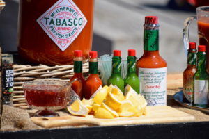 I'm kicking-up my stories with a bushel of hot chilies, a gallon of Tabasco® sauce, and a heaping cup of cayenne pepper!